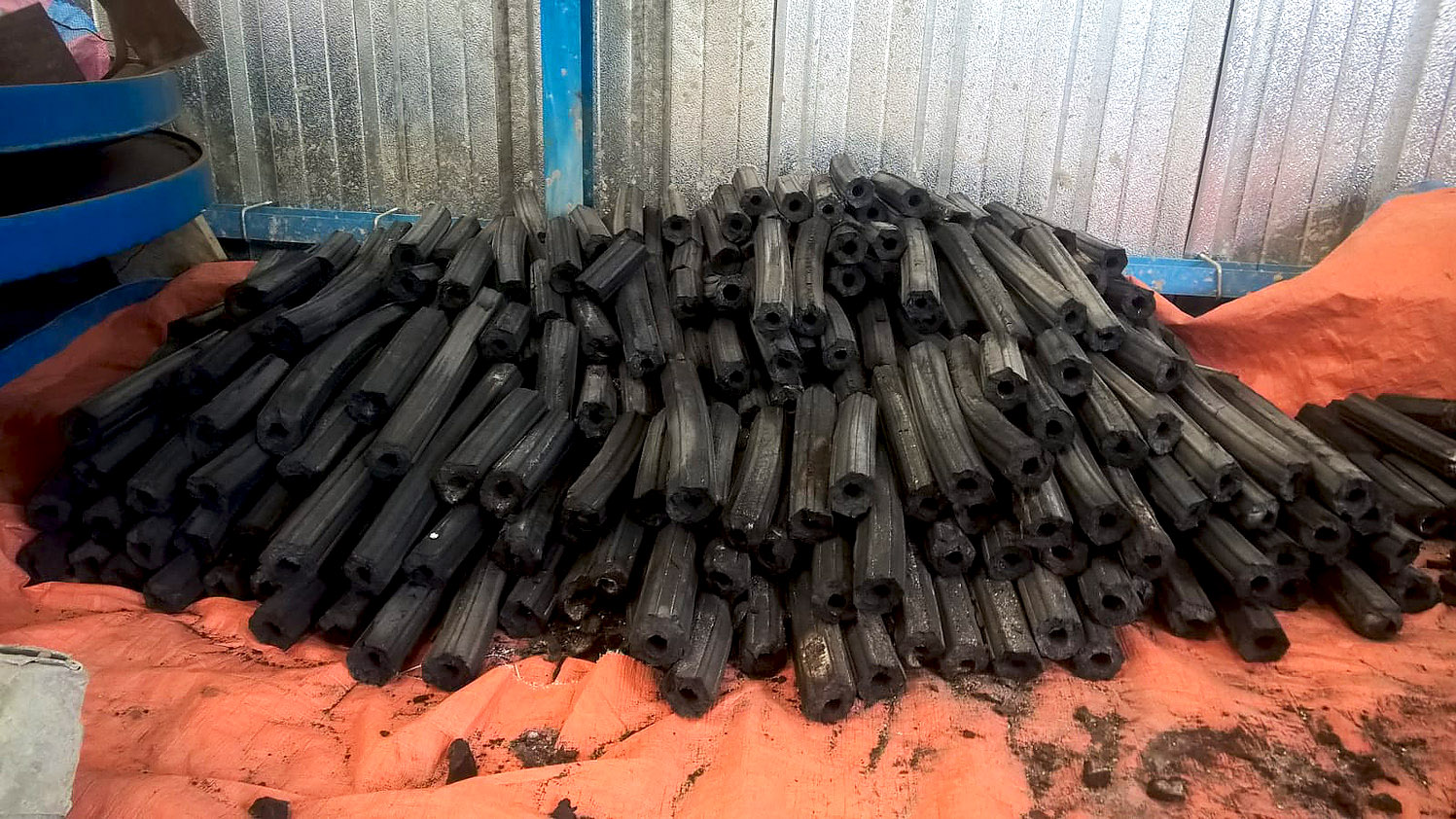 Une série de bio-charbons produite