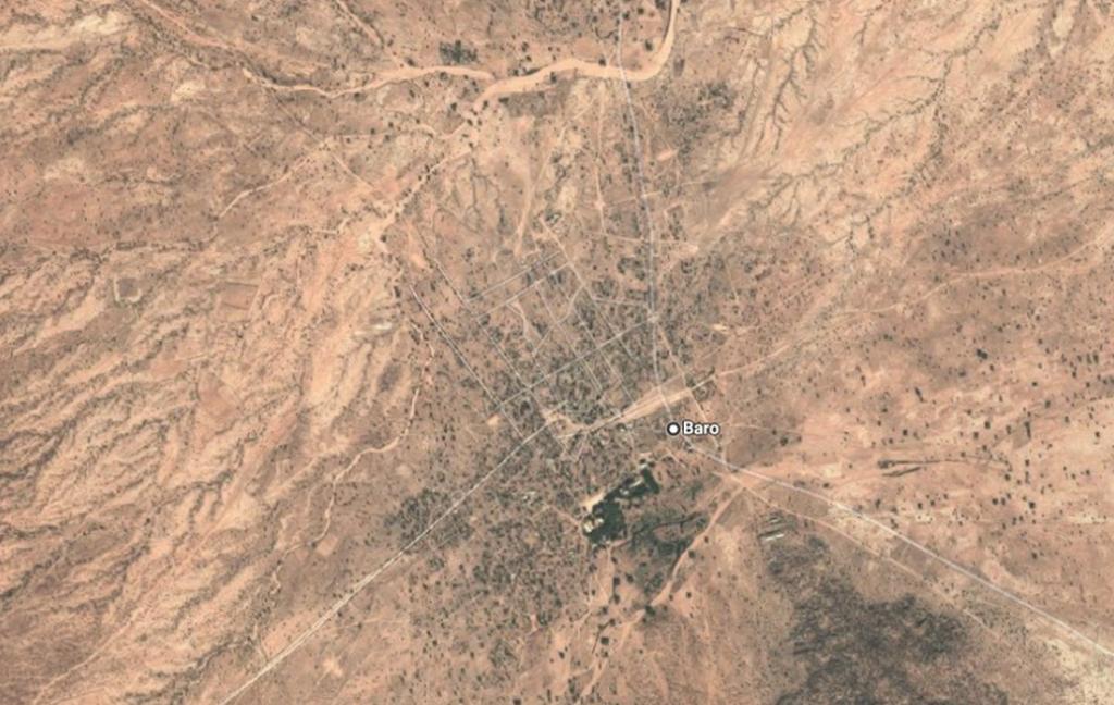 Le village de Baro se situe au bout de notre circuit.